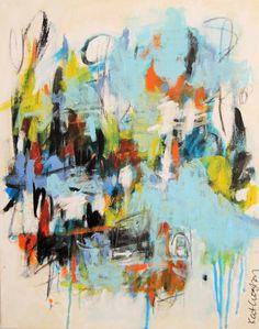 "Saatchi Art Artist Kat Crosby; Painting, ""Off the Chain"" #art"