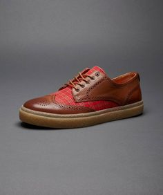 Fred Perry - Davies Leather & Tartan Shoe