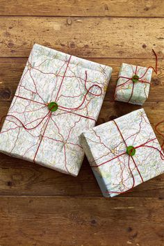 Road-Map Gift Wrap