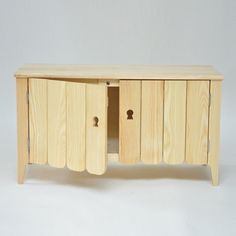 Milan 2012: this cabinet that looks like scaled-up dolls' house furniture by London designer Donna Wilson is on show with design brand SCP