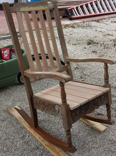 Redoing An Old Rocking Chair Part 1