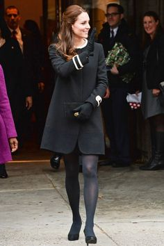 Princess Style: Kate Middleton's Statement Coat | The Zoe Report
