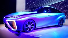 Water Vapor Will Be the Only Emission From Toyota's New Fuel Cell Car