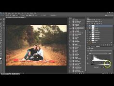 Creating a Warm Toned Edit and Adding Light - YouTube