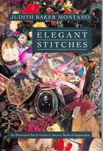 This book is an elegant stitch guide that includes all of the step-by-step instructions and illustrations you'll need to create masterpieces in embroidery—how to fold, twist, knot and manipulate thread, yarn and ribbon. There are 117 illustrated embroidery stitches and over 130 crazy quilt combination stitches.  Available at chadwickheirlooms.com