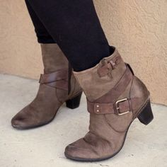 Cobb Hill ankle boots Excellent condition. Leather upper. Made by New Balance. Worn a handful of times. Super comfortable with a good insole/support. Cobb Hill / New Balance Shoes Ankle Boots & Booties