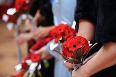 Our bridal parties bouquets. Made by Geranium Lake Flowers Portland, Oregon
