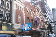 Neil Simon Theatre Marquee for Hairspray on August 15, 2002