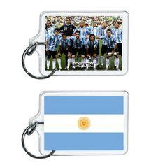 Argentina Soccer Flag 2014 Team Player Acrylic Keychain 2 x 1 | www.balligifts.com