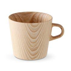 高橋工芸/KAMIマグカップ-M   3675yen 透けるように薄い、天然木材の温かみのあるマグカップ