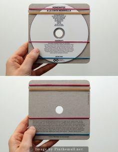 Oha, geht es eigentlich noch schlichter. Ja, man könnte die CD unbedruckt lassen :-) #CD