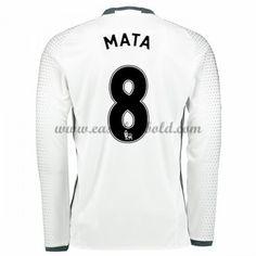 Fodboldtrøjer Premier League Manchester United 2016-17 Mata 8 3. Trøje Langærmede