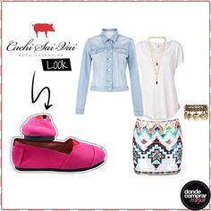 ¡Look Cuchi Sai-Vai para el finde! ¿Te gusta?  www.tiendadcm.com