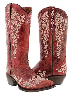 girly cowgirl boots | Women's Butterfly And Flower Design Pink ...