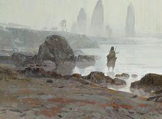 hunter, Yun Ling on ArtStation at https://www.artstation.com/artwork/the-river-3a418d9d-00cb-4a70-851f-cd22d545c08a