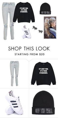 """""""Untitled #86"""" by sk8terqueen on Polyvore featuring 3x1, adidas, Vans and Marc Jacobs"""