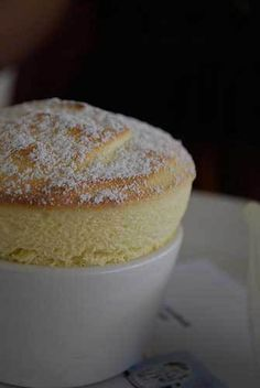 Vanilla Souffle Recipe – Vanilla Dessert Souffle 2 tablespoons salted butter, melted cup granulated sugar 1 cups whole milk, divid. Vanilla Souffle Recipes, Vanilla Desserts, Just Desserts, Delicious Desserts, Dessert Recipes, Yummy Food, Souffle Recipes Easy, Dessert Souffle Recipe, French Desserts