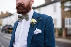 Beautiful vintage style tweed suits by Vintage Suit Hire Co