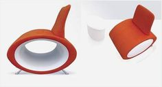 Designed by La Cividina the Globos Chair is a brilliant solution for small places, particularly on the off chance that you don't have space in your apartment for 12 chairs laying around your home constantly. So to take care of this issue designer Stefano Bigi designed a gathering of furniture that cunningly concealed additional seating inside its body. All alone, the seat and chair can just seat 4 individuals. Notwithstanding, within their bulbous designs are 8 poufs that can be utilized as