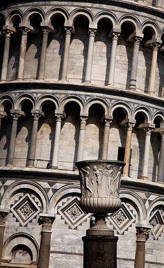 Torre di Pisa , Italia