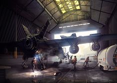 The Hangar - Bionic Commando by `arcipello on deviantART