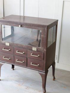 Vintage Medical Cabinet by lovintagefinds on Etsy
