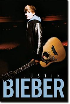 Justin Bieber - Notes - Glow In The Dark 22x34 Art Print Poster Poster Print, 22x34