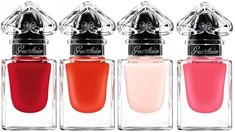 Guerlain La Petite Robe Noire Makeup Collection 2016 Love the little bottles.