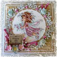 Precious Present card by DT Tracy