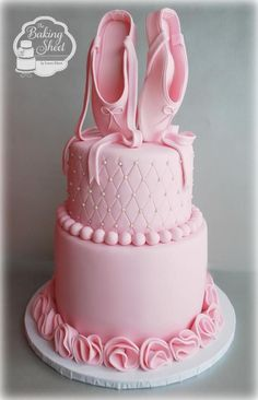 Ballerina Pretty In Pink Cake » Princesses & Tiaras ~ Princess Party Ideas, Princess Themed Events, Princess Party Inspiration & More