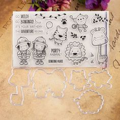 Aliexpress.com : Buy VUAWRTG  Party Animal Transparent Clear Silicone Stamp or Metal Cutting Die for DIY scrapbooking/Card Making from Reliable transparent clear silicone stamp suppliers on sweet party house