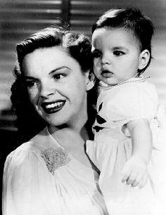 Judy Garland and daughter Liza Minelli