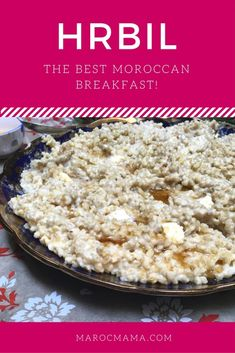 I love this Moroccan version of oatmeal, that isn't actually made with oats at all. Warm up your breakfast table with this recipe!