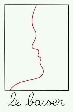 Le baiser Jean Cocteau
