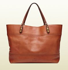 laidback crafty leather tote