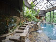 I love the indoor pool with all the windows :)