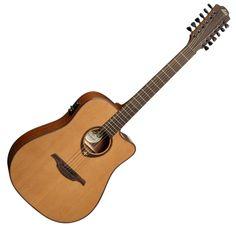 12 string Guitar LAG Tramontane T200D 12 CE
