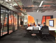 NAB 700 Bourke St | Australian Design Review | photo by Shannon McGrath   #Interior #Workspace #Workplace #Work #Design