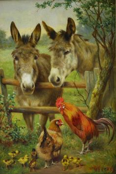"""""""The Latest Arrivals"""" ... by Herbert William Weekes. For more great pins go to @KaseyBelleFox"""