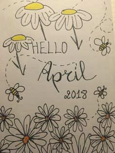 April front page #bujo #bulletjournal