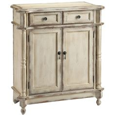 Heidi 2-Door Accent Cabinet ($330) ❤ liked on Polyvore featuring home, furniture, storage & shelves, cabinets, drawer storage cabinet, 2 door cabinet, double door cabinet, door storage cabinet and drawer cabinet