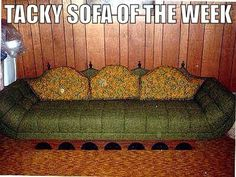 Tacky sofa of the week!