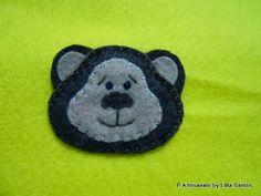 Apliques: Carinhas de animais by Litta Santos http://littasantos.blogspot.com.br/