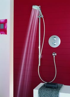 Rainshower® Classic To view our Grohe range, visit us at www. Classic Showers, Water Efficiency, Bathroom Showrooms, Dream Shower, Dynamic Design, Modern Shower, Shower Systems, Color Shapes, Plumbing Fixtures