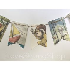 Where the Wild Things Are party banner by WildRumpusBoutique
