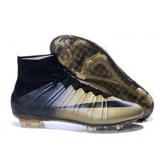 premium selection 5bbae 38087 2016 Nike Mercurial Superfly CR7 FG Botas De Futbol Oroen Negro