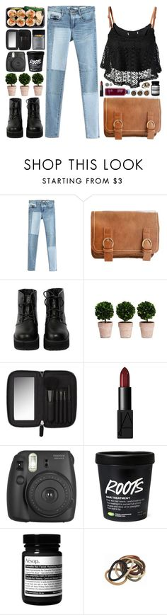 """Contest Updates"" by dear-scone ❤ liked on Polyvore featuring Retrò, By eLUXE, The WhitePepper, Witchery, NARS Cosmetics, Aesop and Tea Collection"