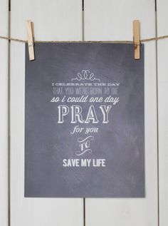 """""""I celebrate the day that you were born to die so I could one day pray for you to save my life"""" Relient K"""
