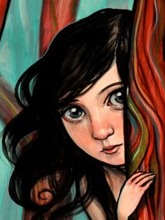 """Where to Hide (zoom)"" par Kelly Vivanco"