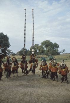 Dogon sirige masks in performance Mali, 2001 Photograph by Anne Rogers In the origin myths of many African societies, the first beings descended from the sky, a world with powerful spirits and a...